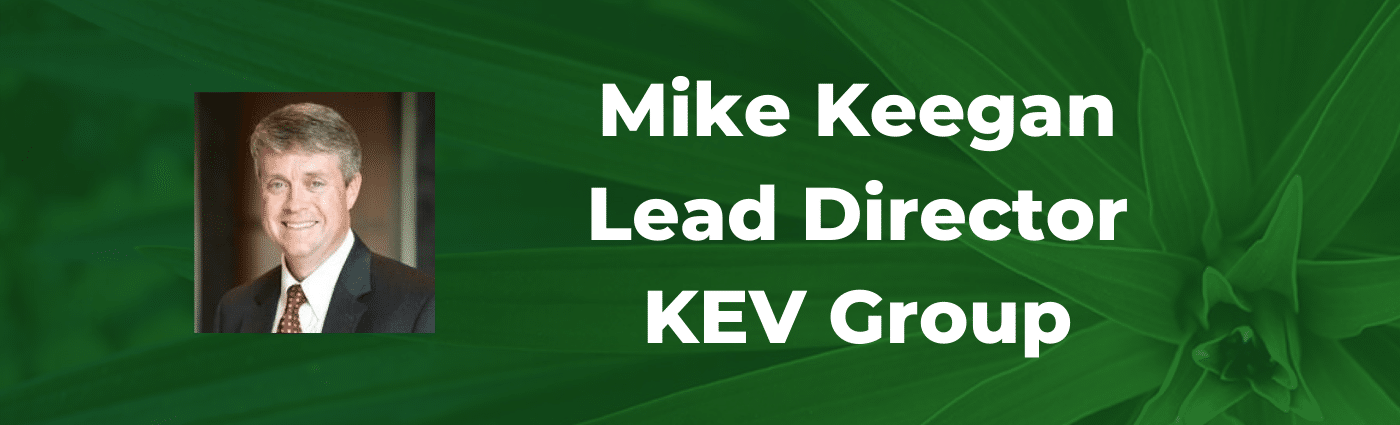 Serent Snapshot: Mike Keegan, Lead Director of KEV Group