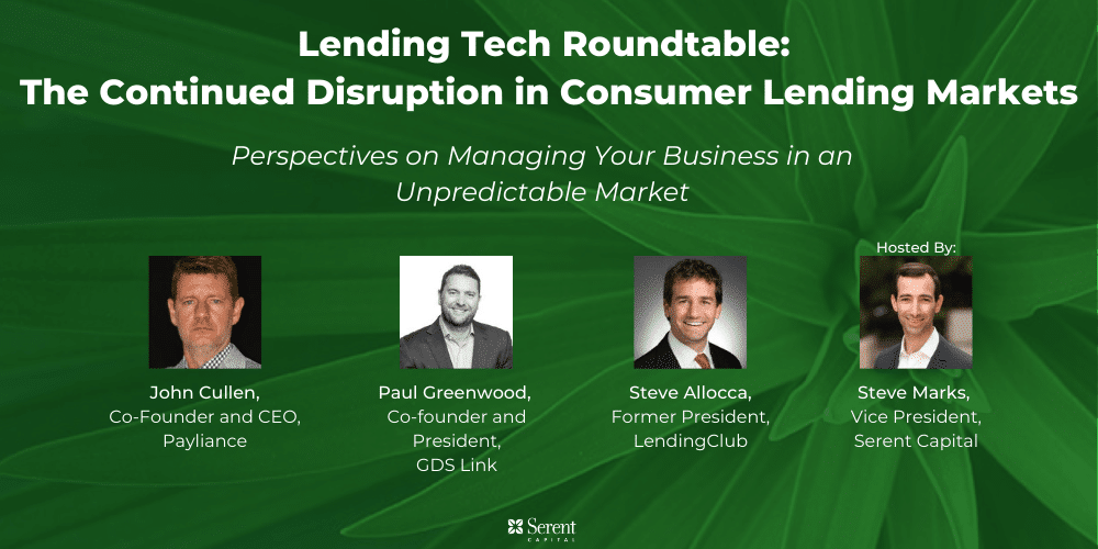 Lending Tech: The Continued Disruption in Consumer Lending Markets