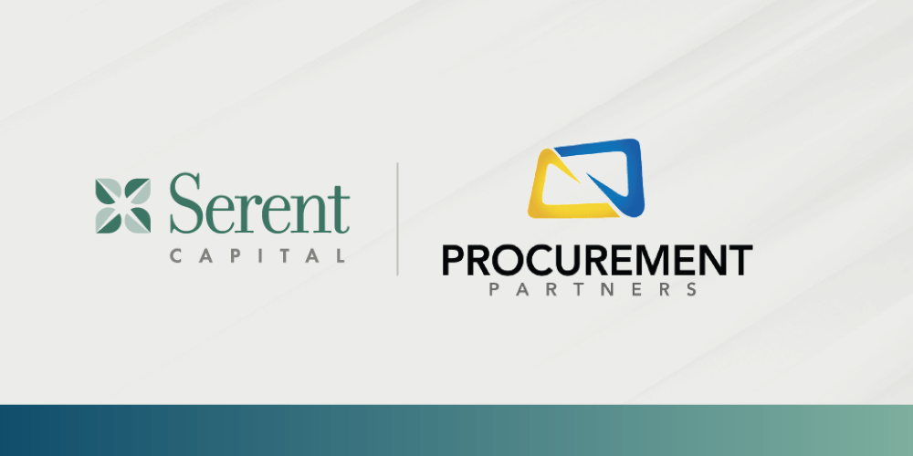 Procurement Partners Announces Growth Investment from Serent Capital