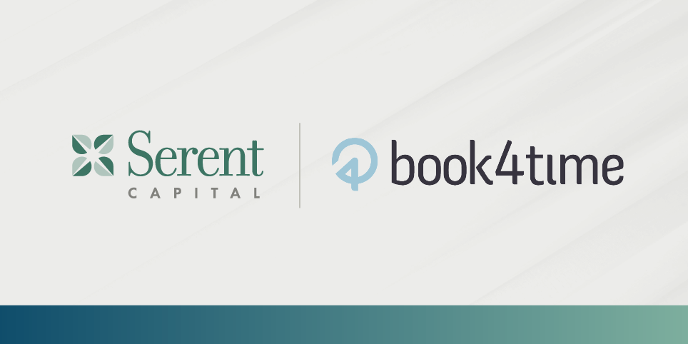 Book4Time Announces Growth Investment From Serent Capital