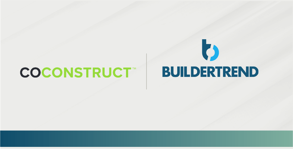 Buildertrend Acquires CoConstruct to Create Market Leader in Construction Management Software