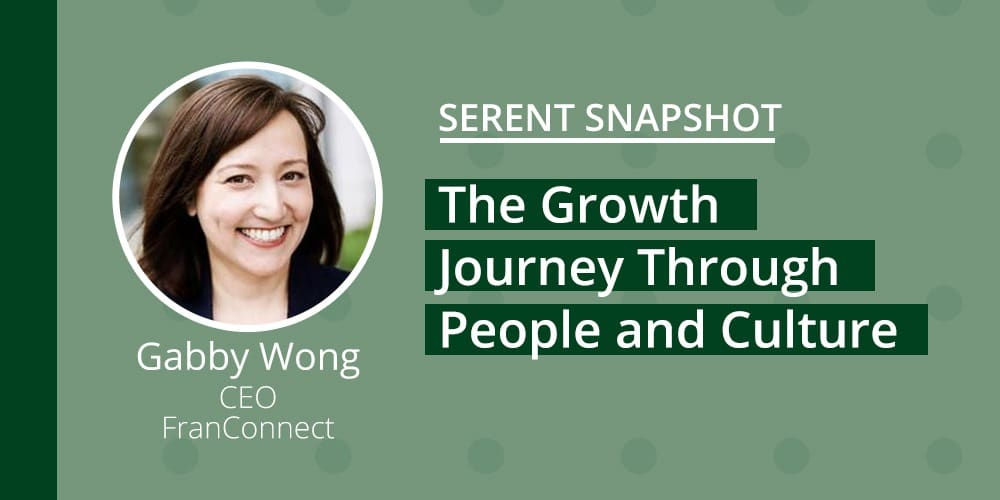 Serent Snapshot: Gabby Wong, CEO of FranConnect