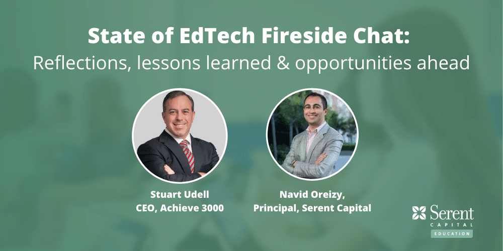 State of EdTech Fireside Chat