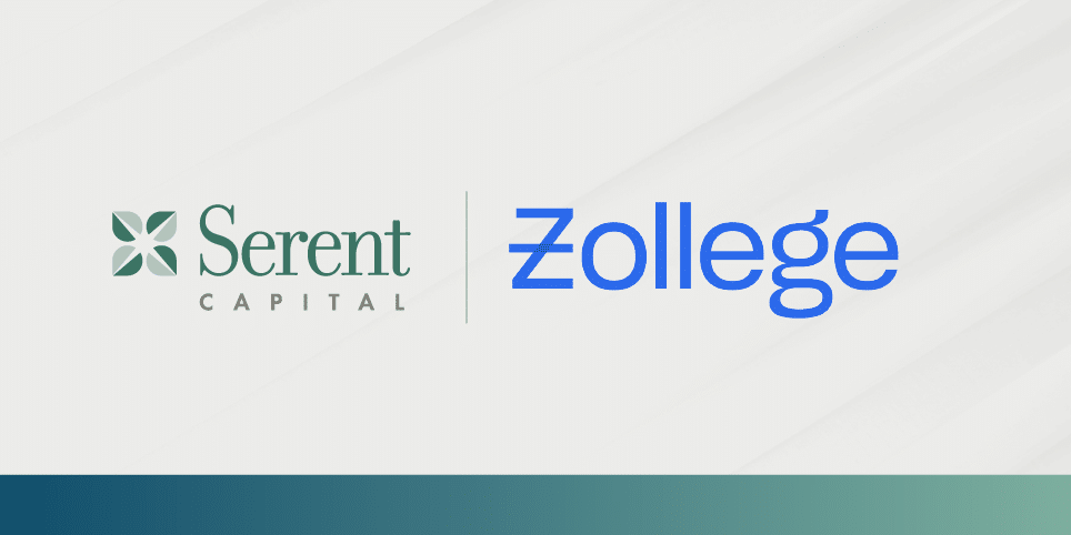 Zollege Partners with Serent Capital for Growth Investment